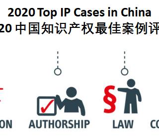 2020 中国知识产权最佳案例评选